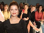 Still part of the family: Pixie Geldof brings brother-in-law Thomas Cohen to London Fashion Week show