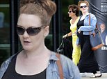 Mandatory Credit: Photo by MCPIX/REX (4104860d)\n Jenny McAlpine walks around Media City with a friend.\n Jenny Mcalpine Out and About in Manchester, Britain - 16 Sep 2014\n \n