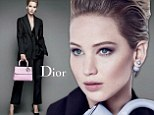 Jennifer Lawrence, 24, is starring in her fourth Dior campaign for their Autumn/Winter 2015 flap handbag