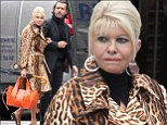 Back together again? Ivana Trump, 65, strolls arm-in-arm with ex-husband Rossano Rubicondi, 41, in New York