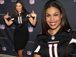 Sporty Sparks! Jordin shows support for her home team at first ever NFL Hall Of Fashion event