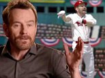 One-man show: Bryan Cranston created a one-man show about the baseball playoffs
