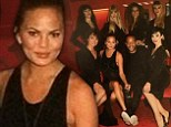 Chrissy Teigen treated husband John Legend to strippers at Crazy Horse Paris for their wedding anniversary