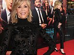 "HOLLYWOOD, CA - SEPTEMBER 15:  Actress Jane Fonda arrives at the Los Angeles Premiere ""This Is Where I Leave You"" at TCL Chinese Theatre on September 15, 2014 in Hollywood, California.  (Photo by Jon Kopaloff/FilmMagic)"