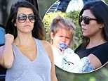 Another girl? Kourtney Kardashian 'is thrilled she will be giving daughter Penelope a baby sister'