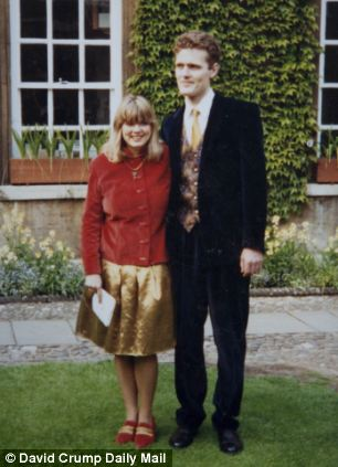 Olivia on her wedding day to second husband Mark in 1993