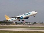 AHFPCR Novair Airbus A321 taking off from Malta International Airport