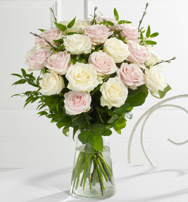 For £150, M&S can provide a bridal bouquet, two bridesmaids bouquets and four button holes
