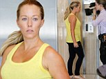 The show must go on! Kendra Wilkinson films reality show amid reports she's taken back husband Hank Baskett after his transsexual cheating scandal
