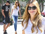Opposites DO attract! Sofia Vergara is the height of glamour while Joe Manganiello keeps it casual for coffee date
