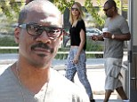 Time for a recharge! Eddie Murphy enjoys another caffeine kick with gorgeous girlfriend Paige Butcher