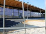 'Delayed': The £22million mothballed Tesco store in Chatteris, near Ely in Cambridgeshire, which won't be opening in November