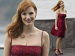 Mandatory Credit: Photo by Agencia EFE/REX (4110504h)  Jessica Chastain  'The Disappearance of Eleanor Rigby' film photocall, 62nd San Sebastian Film Festival, Spain - 23 Sep 2014