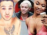 Racy pictures show pair arrested on suspicion of stealing Miley Cyrus' $100k Maserati (and they're a couple)