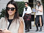 Paris September 24th , 2014  Kris divorced and Kendall Jenner coming back from the lunch  Ref: SPL849928  240914   Picture by: KCS Presse / Splash News  Splash News and Pictures Los Angeles: 310-821-2666 New York: 212-619-2666 London: 870-934-2666 photodesk@splashnews.com