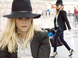 Picture Shows: Reese Witherspoon  September 23, 2014\n \n 'Wild' actress Reese Witherspoon arriving on a flight at JFK Airport in New York City, New York. In an interview with Extra, Reese said about her 15 year old daughter Ava giving her fashion tips, 'Oh yeah, all the time. She's 15. She has lots of thoughts of what a dork I am.' \n \n Non Exclusive\n UK RIGHTS ONLY \n \n Pictures by : FameFlynet UK © 2014\n Tel : +44 (0)20 3551 5049\n Email : info@fameflynet.uk.com