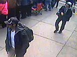 Suspects wanted for questioning in relation to the Boston Marathon bombing April 15 are revealed in this handout photo during an FBI news conference in Boston, April 18, 2013.  REUTERS/FBI/Handout  (UNITED STATES - Tags: CRIME LAW TPX IMAGES OF THE DAY) THIS IMAGE HAS BEEN SUPPLIED BY A THIRD PARTY. IT IS DISTRIBUTED, EXACTLY AS RECEIVED BY REUTERS, AS A SERVICE TO CLIENTS. FOR EDITORIAL USE ONLY. NOT FOR SALE FOR MARKETING OR ADVERTISING CAMPAIGNS - RTXYR9F