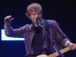 LAS VEGAS, NV - SEPTEMBER 20:  Singer/songwriter Ed Sheeran performs during the 2014 iHeartRadio Music Festival at the MGM Grand Garden Arena on September 20, 2014 in Las Vegas, Nevada.  (Photo by Ethan Miller/Getty Images for Clear Channel)