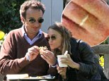 EXCLUSIVE TO INF. PLEASE CALL BEFORE USAGE.\nSeptembe 19, 2014: Mary-Kate Olsen and Olivier Sarkozy, half-brother of Nicolas Sarkozy, former President of France seen out in the Hamptons, New York.  Sarkozy fed Mary-Kate a sandwich and later both enjoyed a cigarette.  In a relationship since 2012, Olsen can be seen wearing her engagement ring from Sarkozy\nMandatory Credit: Matt Agudo/INFphoto.com Ref.: infusny-251 sp EXCLUSIVE TO INF. PLEASE CALL BEFORE USAGE.