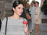 PARIS, FRANCE - SEPTEMBER 24:  Kendall Jenner is sighted as she goes for lunch on September 24, 2014 in Paris, France.  (Photo by Pierre Suu/GC Images)