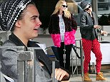 23.SEPTEMBER.2014 - LONDON - UK\n**EXCLUSIVE ALL ROUND PICTURES**\nBRITISH MODEL CARA DELEVINGNE HAVING LUNCH WITH HER FAMILY ALONG WITH HER TWO SISTERS POPPY DELEVINGNE AND CHLOE DELEVINGNE IN LONDON\nBYLINE MUST READ : XPOSUREPHOTOS.COM\n***UK CLIENTS - PICTURES CONTAINING CHILDREN PLEASE PIXELATE FACE PRIOR TO PUBLICATION ***\nUK CLIENTS MUST CALL PRIOR TO TV OR ONLINE USAGE PLEASE TELEPHONE 0208 344 2007**