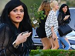 EXCLUSIVE: Kylie Jenner, Hailey Baldwin and Jordyn Woods head to dinner at Sugarfish Sushi.   Pictured: Kylie Jenner, Hailey Baldwin and Jordyn Woods Ref: SPL847654  230914   EXCLUSIVE Picture by: VIPix / Splash News  Splash News and Pictures Los Angeles: 310-821-2666 New York: 212-619-2666 London: 870-934-2666 photodesk@splashnews.com