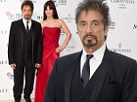 Mandatory Credit: Photo by Jonathan Hordle /REX (4116130c)\n The Al Pacino BFI Fellowship dinner at the Corinthia Hotel London supported by Moet & Chandon\n Al Pacino\n Al Pacino BFI Fellowship Dinner, London, Britain - 24 Sep 2014\n \n