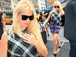 Jessica Simpson out and about in a tartan dress in NYC\n\nPictured: Jessica Simpson\nRef: SPL849940  240914  \nPicture by: XactpiX/Splash\n\nSplash News and Pictures\nLos Angeles: 310-821-2666\nNew York: 212-619-2666\nLondon: 870-934-2666\nphotodesk@splashnews.com\n