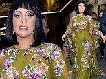 BRUSSELS, BELGIUM - SEPTEMBER 23: Lady Gaga seen leaving her hotel on September 23, 2014 in Brussels, Belgium.\nPHOTOGRAPH BY Eagle Lee / Barcroft Media\nUK Office, London.\nT +44 845 370 2233\nW www.barcroftmedia.com\nUSA Office, New York City.\nT +1 212 796 2458\nW www.barcroftusa.com\nIndian Office, Delhi.\nT +91 11 4053 2429\nW www.barcroftindia.com