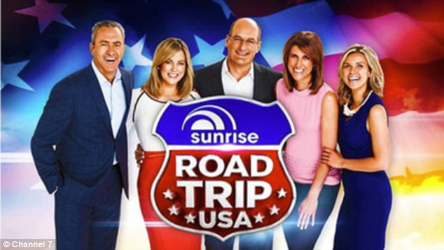 Stateside here we come! The Sunrise team are planning a road trip across America and will be broadcasting  the show from the USA as they travel