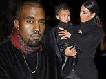 24 September 2014.\nKanye West attends the Dries Van Noten show as part of the Paris Fashion Week Womenswear Spring/Summer 2015 on September 24, 2014 in Paris, France\nCredit: GoffPhotos.com   Ref: KGC-322/0031656\n**UK, China Sales Only**