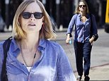 Jodie Foster talks on her hands free kit as she is spotted out in west hollywood C.a.\nFeaturing: Jodie Foster\nWhere: Los Angeles, California, United States\nWhen: 24 Sep 2014\nCredit: WENN.com