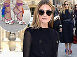 26 set 2014 - PARIS - FRANCE  *** NOT AVAILABLE FOR ITALY ***  OLIVIA PALERMO ARRIVES AT DIOR   BYLINE MUST READ : XPOSUREPHOTOS.COM  ***UK CLIENTS - PICTURES CONTAINING CHILDREN PLEASE PIXELATE FACE PRIOR TO PUBLICATION ***  **UK CLIENTS MUST CALL PRIOR TO TV OR ONLINE USAGE PLEASE TELEPHONE 44 208 344 2007**