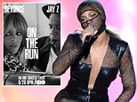 """MIAMI GARDENS, FL - JUNE 25:  Beyonce performs during opening night of the """"On The Run Tour: Beyonce And Jay-Z"""" at Sun Life Stadium on June 25, 2014 in Miami Gardens, Florida.  (Photo by Kevin Mazur/WireImage for Parkwood Entertainment)"""