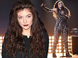 LAS VEGAS, NV - SEPTEMBER 20:  Recording artist Lorde performs onstage during the 2014 iHeartRadio Music Festival at the MGM Grand Garden Arena on September 20, 2014 in Las Vegas, Nevada.  (Photo by Jeff Kravitz/FilmMagic)