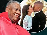 FLORENCE, ITALY - MAY 24:  Andre Leon Talley sighting at the Wedding Of Kim Kardashian And Kanye West In Florence at Four Season Hotel on May 24, 2014 in Florence, Italy.  (Photo by Ernesto Ruscio/GC Images)