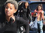 Mandatory Credit: Photo by Startraks Photo/REX (4130748g)\n Willow Smith and Moises Arias\n Willow Smith and Moises Arias out and about, New York, America - 26 Sep 2014\n \n