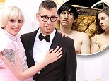 LOS ANGELES, CA - AUGUST 25:  (L-R) Actress Lena Dunham and musician Jack Antonoff of the band Fun arrive at the 66th Annual Primetime Emmy Awards at Nokia Theatre L.A. Live on August 25, 2014 in Los Angeles, California.  (Photo by Barry King/FilmMagic)