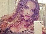 KELLY BROOK IN CELEBRITY TWITTER PICTURE