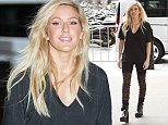 26.SEPT.2014 - LONDON  - UK POP SINGER ELLIE GOULDING ARRIVING AT THE BBC RADIO STUDIOS TO PERFORM ON THE LIVE LOUNGE IN LONODN  BYLINE MUST READ : XPOSUREPHOTOS.COM ***UK CLIENTS - PICTURES CONTAINING CHILDREN PLEASE PIXELATE FACE PRIOR TO PUBLICATION *** **UK CLIENTS MUST CALL PRIOR TO TV OR ONLINE USAGE PLEASE TELEPHONE   44 208 344 2007 **