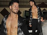 Dancer Valentin Chmerkovskiy shows off his abs at the 'Dancing with the Stars' studio in West Hollywood on September 24, 2014.\n\nPictured: Valentin Chmerkovskiy \nRef: SPL850728  250914  \nPicture by: Mr Photoman / Splash News\n\nSplash News and Pictures\nLos Angeles: 310-821-2666\nNew York: 212-619-2666\nLondon: 870-934-2666\nphotodesk@splashnews.com\n
