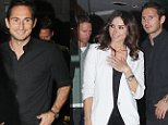 Man City's Frank Lampard looked happy enough when he left San Carlo Restaurant in Manchester city centre with his fiance Christine Bleakley at about 10.45pm on Sunday night. Frank had earlie scored the equaliser against his old club Chelsea and spoiling their perfect start to the season........21.9.14