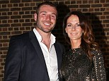 Taking time out: Ben Cohen and his wife Abby, pictured at his charity foundation dinner in May, have separated