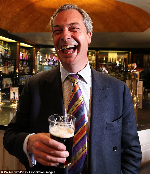 With recent successes of the UKIP party, Farage has caused worry amongst the three major political parties, especially the Tories who have had major attacks on his 'fruitcake' candidates