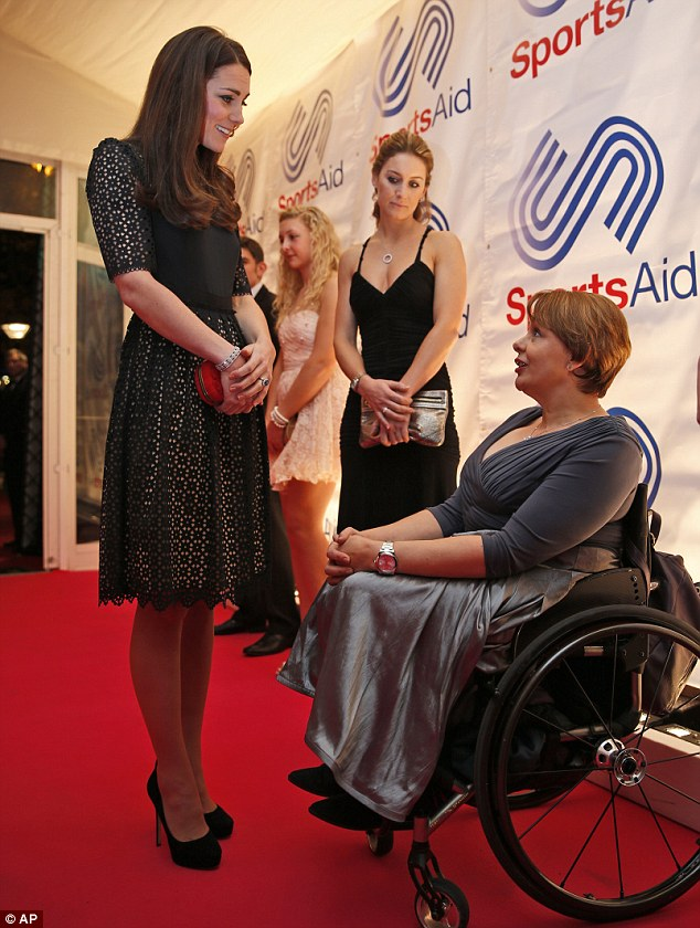 The Welsh former wheelchair racer is current trustee of the charity
