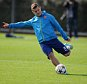 Champions League Training. Arsenal. 27/09/14: Kevin Quigley/Daily Mail/Solo Syndication Jack wilshere