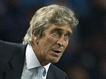 Sept 30th 2014 - Manchester, UK - MAN CITY V AS ROMA  - Manchester City AS Roma Man City manager Manuel Pellegrini. PIcture by Ian Hodgson/Daily Mail