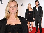 LOS ANGELES, CA - OCTOBER 01:  Actress Diane Kruger and actor Joshua Jackson attend the Academy of Motion Picture Arts and Sciences' Hollywood costume opening party at Wilshire May Company Building on October 1, 2014 in Los Angeles, California.  (Photo by Jason LaVeris/FilmMagic)