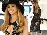 Jennifer Lopez was spotted on set, looking amazing in a lace dress, on Thursday, October 2, 2014 X17online.com