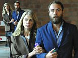 """EXCLUSIVE: James Middleton and girlfriend Donna Air enjoy a night out at the theatre. The happy couple spotted walking arm in arm, watched """"War Horse"""" at the London Theatre in Covent Garden.\n\nPictured: James Middleton and Donna Air\nRef: SPL832884  021014   EXCLUSIVE\nPicture by: BR / Splash News\n\nSplash News and Pictures\nLos Angeles: 310-821-2666\nNew York: 212-619-2666\nLondon: 870-934-2666\nphotodesk@splashnews.com\n"""